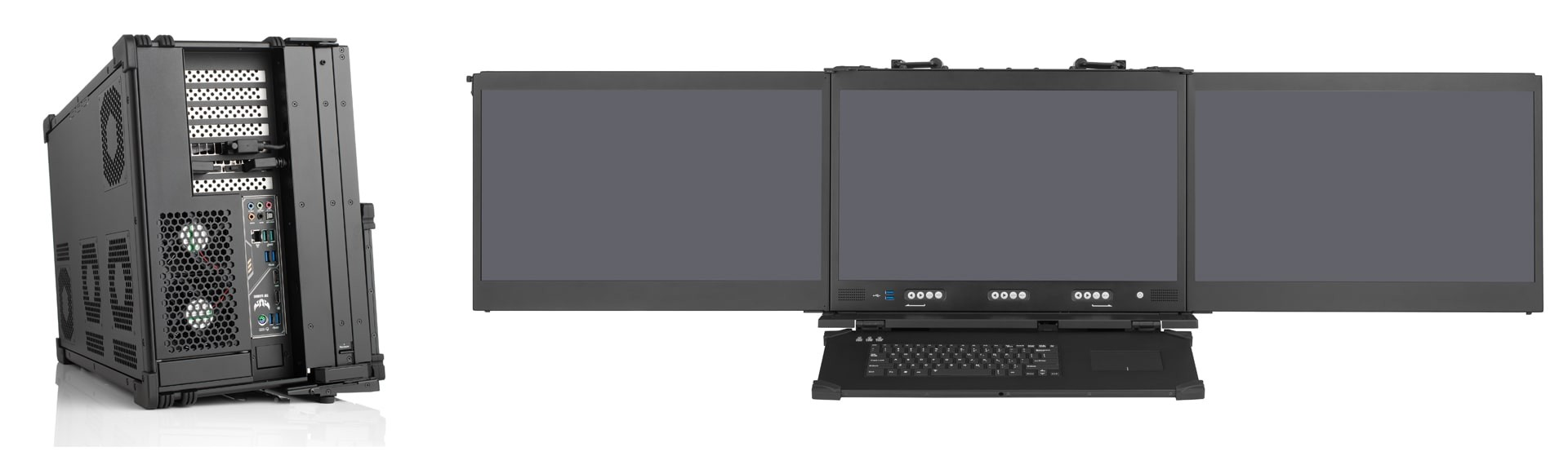 Mobile command and control center (C4ISR)